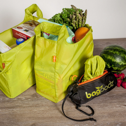 Shoppingbager i et smart futteral